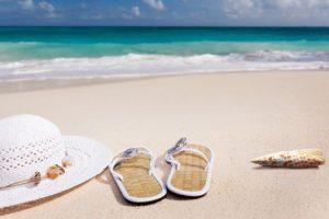limpiar la arena de la playa